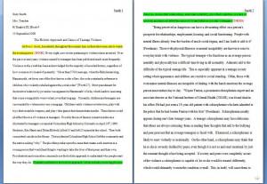 Mla Format Essay Title Underline