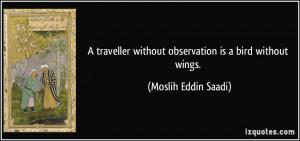 More Moslih Eddin Saadi Quotes