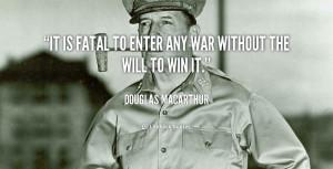 General Douglas Macarthur Quotes