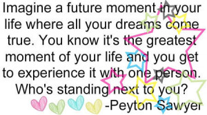 Peyton Sawyer Quote