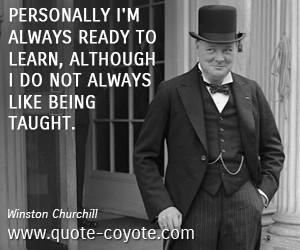 Winston Churchill Quotes Work Hard