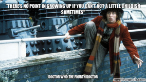 doctor who inspirational quote Jan 04 06:01 UTC 2013