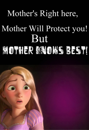 Disney Princess Mother Knows Best(I made my own lyrics lol)