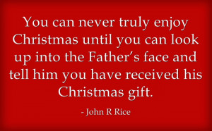 Inspirational Christian Christmas Quotes