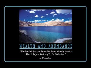Wealth & Abundance Quotes and Affirmations by Eleesha [www.eleesha.com ...