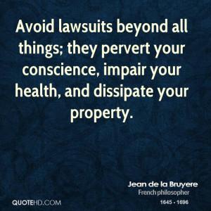 Jean de la Bruyere Legal Quotes