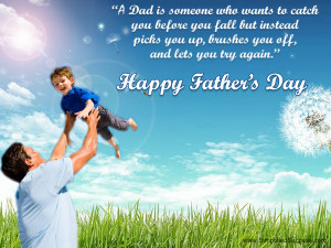 17th June: Father's Day 2012