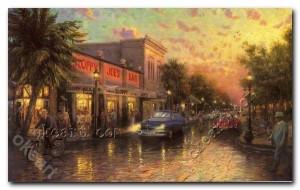 Key West Thomas Kinkade Art