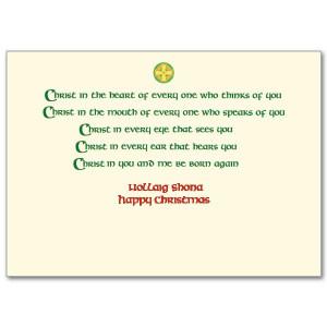 irish christmas blessing an irish christmas blessing irish christmas ...