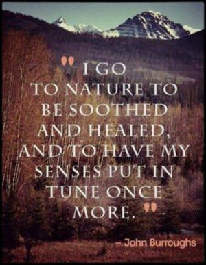 Natural healing..