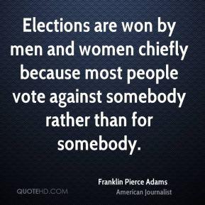 Franklin Pierce Adams Quotes