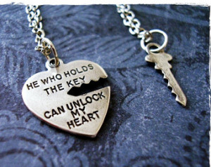 Key To My Heart Quotes Silver heart quote
