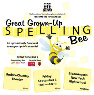Adult Spelling Bee Event...