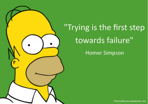 What's your favorite Homer Simpson quote about life?