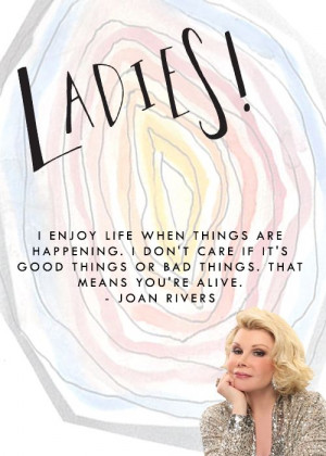 We will miss you, Joan.