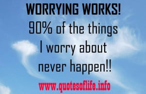 Related Pictures worrying quotes 10