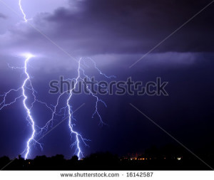 Thunder And Lightning Short Funny Quotes Anonymous Half The People