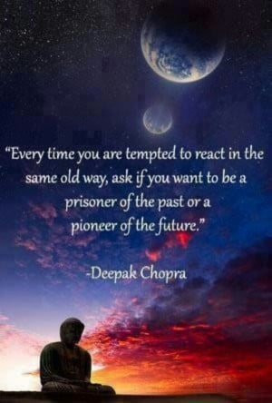 Love you said Deepak Chopra .
