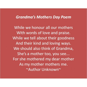 Happy Mothers Day Quotes on Pics for Grandmothers