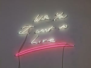 We're Obsessed: Neon Light Quotes