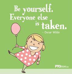 Inspirational quotes for PTOs, PTAs. More