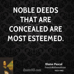 Blaise Pascal Inspirational Quotes