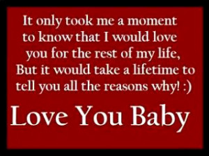 Love You Babe Quotes I love you bab.