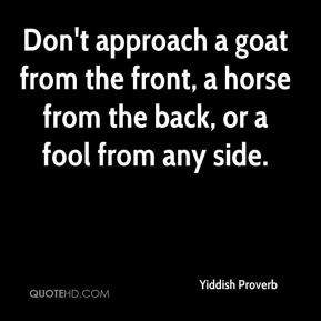 More Yiddish Proverb Quotes