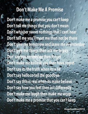 Promise Ring Poems And Quotes | Heartache « Angelinablue's Blog