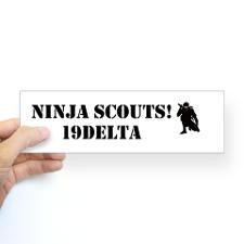 Unique Army cavalry scout Bumper Sticker