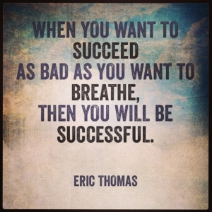 Road To Success by Eric Thomas [QUOTE]