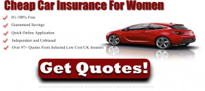 Car insurance for women quote