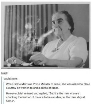 Golda Meir, Prime Minister of Israel