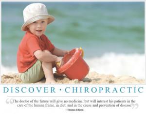 Thomas Edison Chiropractic Quote