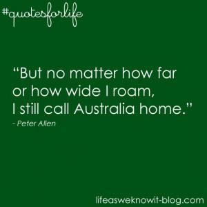 Quotes for life...Australia