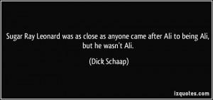 More Dick Schaap Quotes