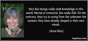 More Anne Rice Quotes