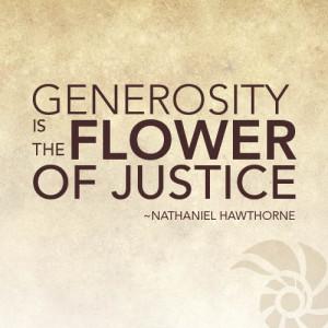 be generous quotes