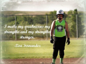 Softball Player Quotes Softball