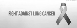 Fight Lung Cancer Facebook Cover