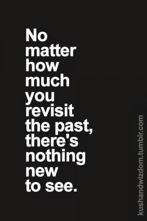 Letting Go . . . Revisited.