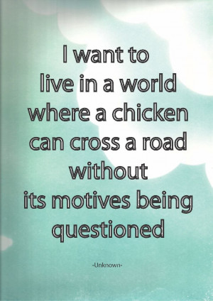Quote Board – A5 – Chicken