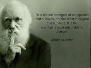 Adaptation... | Quote for Thought | Scoop.it