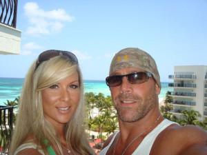 Rebecca Curci (former Nitro girl Whisper) and Shawn Michaels