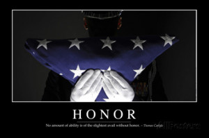 Inspirational Quotes About Honor