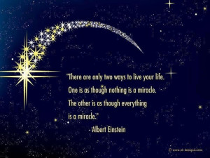 Believe that life is full of miracles www.guidinginstincts.com