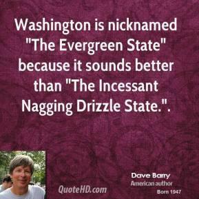 Washington is nicknamed