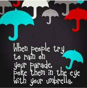 Umbrella quote