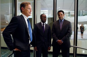 Bruce Greenwood, Don Cheadle and Denzel Washington in elevator ...
