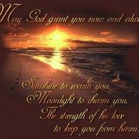 sunset, quotes, God photo: God blessing ...